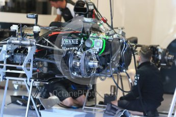 World © Octane Photographic Ltd. McLaren Honda MP4/30. Thursday 20th August 2015, F1 Belgian GP Pitlane, Spa-Francorchamps, Belgium. Digital Ref: 1370LB1D6897