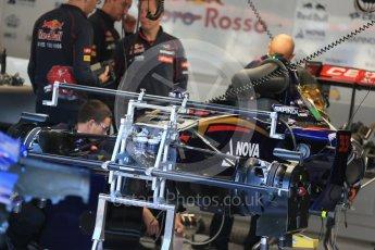 World © Octane Photographic Ltd. Scuderia Toro Rosso STR10. Thursday 20th August 2015, F1 Belgian GP Pitlane, Spa-Francorchamps, Belgium. Digital Ref: 1370LB1D6998