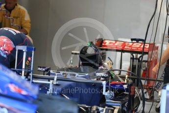 World © Octane Photographic Ltd. Scuderia Toro Rosso STR10. Thursday 20th August 2015, F1 Belgian GP Pitlane, Spa-Francorchamps, Belgium. Digital Ref: 1370LB1D7003
