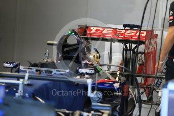 World © Octane Photographic Ltd. Scuderia Toro Rosso STR10. Thursday 20th August 2015, F1 Belgian GP Pitlane, Spa-Francorchamps, Belgium. Digital Ref: 1370LB1D7006