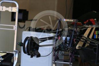World © Octane Photographic Ltd. Lotus F1 Team E23 Hybrid – Romain Grosjean. Thursday 20th August 2015, F1 Belgian GP Pitlane, Spa-Francorchamps, Belgium. Digital Ref: 1370LB1D7055
