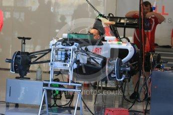 World © Octane Photographic Ltd. Manor Marussia F1 Team MR03B. Thursday 20th August 2015, F1 Belgian GP Pitlane, Spa-Francorchamps, Belgium. Digital Ref: 1370LB1D7065