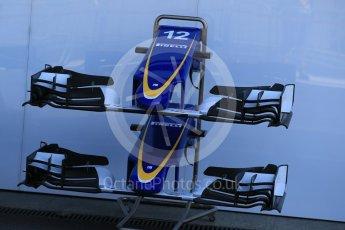 World © Octane Photographic Ltd. Sauber F1 Team C34-Ferrari – Felipe Nasr. Thursday 20th August 2015, F1 Belgian GP Pitlane, Spa-Francorchamps, Belgium. Digital Ref: 1370LB1D7095