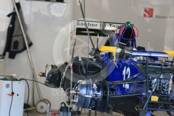 World © Octane Photographic Ltd. Sauber F1 Team C34-Ferrari – Felipe Nasr. Thursday 20th August 2015, F1 Belgian GP Pitlane, Spa-Francorchamps, Belgium. Digital Ref: 1370LB1D7114