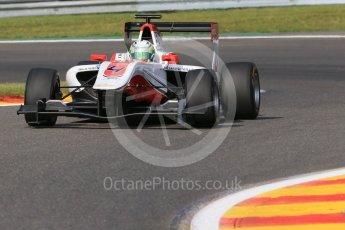 World © Octane Photographic Ltd. Friday 21st August 2015. ART Grand Prix – Alfonso Celis Jr. GP3 Practice – Spa-Francorchamps, Belgium. Digital Ref. : 1378LB1D8841
