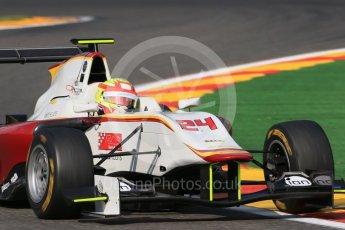 World © Octane Photographic Ltd. Friday 21st August 2015. Campos Racing – Alex Palou. GP3 Practice – Spa-Francorchamps, Belgium. Digital Ref. : 1378LB1D8934