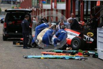 World © Octane Photographic Ltd. Thursday 20th August 2015. MP Motorsport – Daniel de Jong - Extraction practice. GP2 Paddock – Spa-Francorchamps, Belgium. Spain. Digital Ref. : 1372LB1D7405