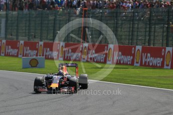 World © Octane Photographic Ltd. Infiniti Red Bull Racing RB11 – Daniel Ricciardo. Sunday 23rd August 2015, F1 Belgian GP Race, Spa-Francorchamps, Belgium. Digital Ref: 1389LB1D2115