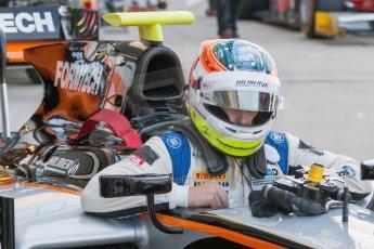 World © Octane Photographic Ltd. Friday 3rd July 2015. Hilmer Motorsport – Jon Lancaster. GP2 Practice – Silverstone, UK. Spain. Digital Ref. : 1329JM1D3848