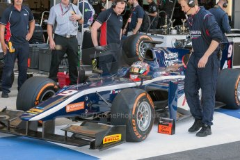 World © Octane Photographic Ltd. Friday 3rd July 2015. Russian Time – Mitch Evans. GP2 Practice – Silverstone, UK. Digital Ref. : 1329JM1D3866