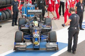 World © Octane Photographic Ltd. Friday 3rd July 2015. Daiko Team Lazarus– Natanael Berthon. GP2 Practice – Silverstone, UK. Digital Ref. : 1329JM1D3887