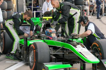 World © Octane Photographic Ltd. Friday 3rd July 2015. Status Grand Prix – Richie Stanaway. GP2 Practice – Silverstone, UK. Digital Ref. : 1329JM1D3903