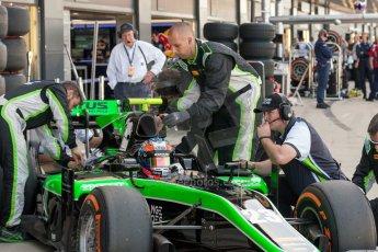 World © Octane Photographic Ltd. Friday 3rd July 2015. Status Grand Prix – Richie Stanaway. GP2 Practice – Silverstone, UK. Digital Ref. : 1329JM1D3904