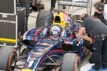 World © Octane Photographic Ltd. Friday 3rd July 2015. DAMS – Pierre Gasly. GP2 Practice – Silverstone, UK. Digital Ref. : 1329JM1D3926