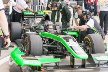 World © Octane Photographic Ltd. Friday 3rd July 2015. Status Grand Prix – Richie Stanaway. GP2 Practice – Silverstone, UK. Digital Ref. : 1329JM1D3960