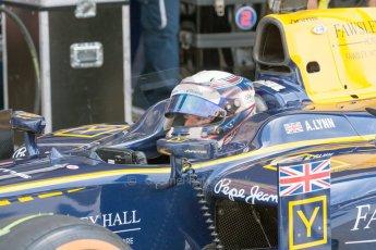 World © Octane Photographic Ltd. Friday 3rd July 2015. DAMS – Alex Lynn. GP2 Practice – Silverstone, UK. Digital Ref. : 1329JM1D4007