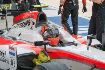 World © Octane Photographic Ltd. Friday 3rd July 2015. MP Motorsport – Daniel de Jong. GP2 Practice – Silverstone, UK. Spain. Digital Ref. : 1329JM1D4023