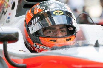 World © Octane Photographic Ltd. Friday 3rd July 2015. MP Motorsport – Daniel de Jong. GP2 Practice – Silverstone, UK. Spain. Digital Ref. : 1329JM1D4027