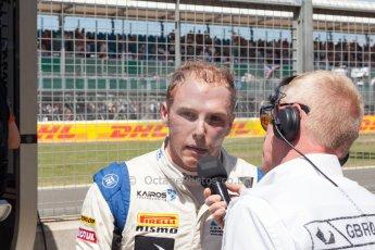 World © Octane Photographic Ltd. Friday 3rd July 2015. Hilmer Motorsport – Jon Lancaster. GP2 Practice – Silverstone, UK. Spain. Digital Ref. : 1329JM1D4084