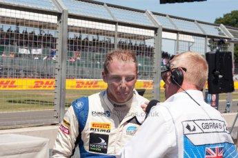 World © Octane Photographic Ltd. Friday 3rd July 2015. Hilmer Motorsport – Jon Lancaster. GP2 Practice – Silverstone, UK. Spain. Digital Ref. : 1329JM1D4087