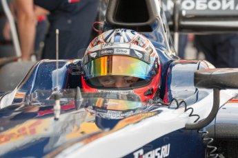 World © Octane Photographic Ltd. Friday 3rd July 2015. Russian Time – Mitch Evans. GP2 Practice – Silverstone, UK. Digital Ref. : 1329JM1D4097