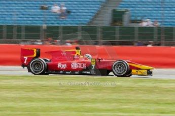 World © Octane Photographic Ltd. Friday 3rd July 2015. Racing Engineering – Jordan King. GP2 Qualifying – Silverstone, UK. Digital Ref. : 1330JM1D3724
