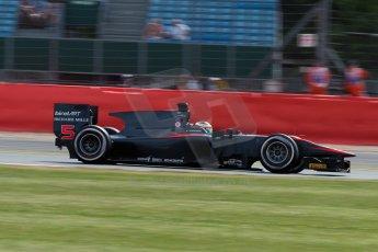 World © Octane Photographic Ltd. Friday 3rd July 2015. ART Grand Prix – Stoffel Vandoorne. GP2 Qualifying – Silverstone, UK. Digital Ref. : 1330JM1D3750