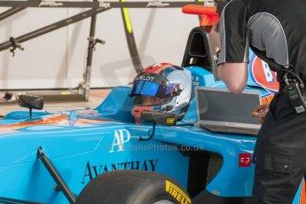 World © Octane Photographic Ltd. Thursday 2nd July 2015. Jenzer Motorsport – Ralph Boschung. GP3 Paddock – Silverstone, UK. Digital Ref. : 1331JM1D4124