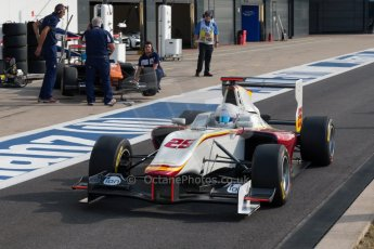 World © Octane Photographic Ltd. Thursday 2nd July 2015. Campos Racing – Christopher Hoher. GP3 Paddock – Silverstone, UK. Digital Ref. :  1331JM1D4132