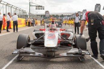 World © Octane Photographic Ltd. Saturday 4th July 2015. ART Grand Prix – Esteban Ocon. GP3 Race 1 – Silverstone, UK. Digital Ref. : 1337JM1D4054