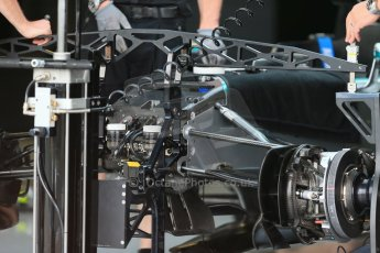 World © Octane Photographic Ltd. Mercedes AMG Petronas F1 W06 Hybrid. Thursday 2nd July 2015, F1 British GP Pit Lane, Silverstone, UK. Digital Ref: 1324LB1D2788