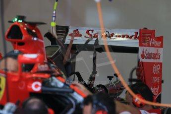World © Octane Photographic Ltd. Scuderia Ferrari SF15-T. Thursday 2nd July 2015, F1 British GP Pit Lane, Silverstone, UK. Digital Ref: 1324LB1D2861