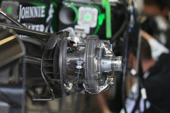 World © Octane Photographic Ltd. McLaren Honda MP4/30. Thursday 2nd July 2015, F1 British GP Pit Lane, Silverstone, UK. Digital Ref: 1324LB1D2889