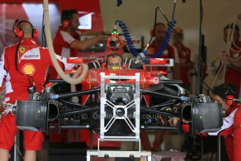 World © Octane Photographic Ltd. Scuderia Ferrari SF15-T. Thursday 2nd July 2015, F1 British GP Pit Lane, Silverstone, UK. Digital Ref: 1324LB5D8461
