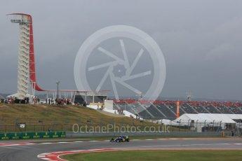 World © Octane Photographic Ltd. Sauber F1 Team C34-Ferrari – Felipe Nasr. Friday 23rd October 2015, F1 USA Grand Prix Practice 1, Austin, Texas - Circuit of the Americas (COTA). Digital Ref: 1460LB5D2810