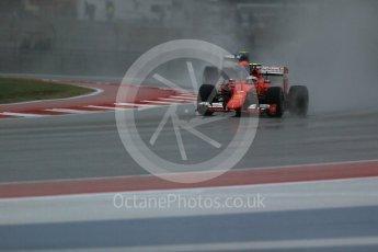World © Octane Photographic Ltd. Scuderia Ferrari SF15-T– Kimi Raikkonen. Sunday 25th October 2015, F1 USA Grand Prix Qualifying, Austin, Texas - Circuit of the Americas (COTA). Digital Ref: 1464LB1D0776