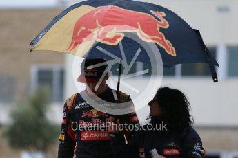 World © Octane Photographic Ltd. Scuderia Toro Rosso STR10 – Max Verstappen. Sunday 25th October 2015, F1 USA Grand Prix Qualifying, Austin, Texas - Circuit of the Americas (COTA). Digital Ref: 1464LB1D1414