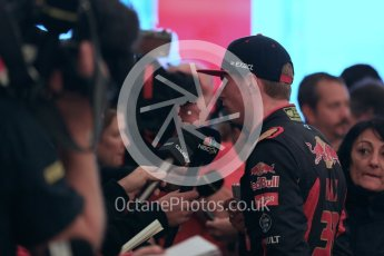 World © Octane Photographic Ltd. Scuderia Toro Rosso STR10 – Max Verstappen. Sunday 25th October 2015, F1 USA Grand Prix Qualifying, Austin, Texas - Circuit of the Americas (COTA). Digital Ref: 1464LB1D1428