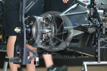 World © Octane Photographic Ltd. Mercedes AMG Petronas F1 W06 Hybrid. Wednesday 21st October 2015, F1 USA Grand Prix Set Up, Austin, Texas - Circuit of the Americas (COTA). Digital Ref: 1457LB1D8018
