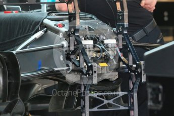 World © Octane Photographic Ltd. Mercedes AMG Petronas F1 W06 Hybrid. Wednesday 21st October 2015, F1 USA Grand Prix Set Up, Austin, Texas - Circuit of the Americas (COTA). Digital Ref: 1457LB1D8022