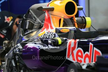 World © Octane Photographic Ltd. Infiniti Red Bull Racing RB11. Wednesday 21st October 2015, F1 USA Grand Prix Set Up, Austin, Texas - Circuit of the Americas (COTA). Digital Ref: 1457LB1D8054