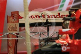 World © Octane Photographic Ltd. Scuderia Ferrari SF15-T. Wednesday 21st October 2015, F1 USA Grand Prix Set Up, Austin, Texas - Circuit of the Americas (COTA). Digital Ref: 1457LB1D8204