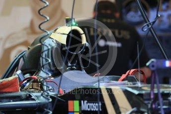 World © Octane Photographic Ltd. Lotus F1 Team E23 Hybrid. Wednesday 21st October 2015, F1 USA Grand Prix Set Up, Austin, Texas - Circuit of the Americas (COTA). Digital Ref: 1457LB1D8396