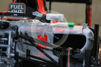 World © Octane Photographic Ltd. Manor Marussia F1 Team MR03B. Wednesday 21st October 2015, F1 USA Grand Prix Set Up, Austin, Texas - Circuit of the Americas (COTA). Digital Ref: 1457LB1D8444