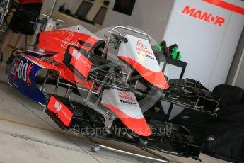 World © Octane Photographic Ltd. Manor Marussia F1 Team MR03B. Wednesday 21st October 2015, F1 USA Grand Prix Set Up, Austin, Texas - Circuit of the Americas (COTA). Digital Ref: 1457LB5D2732