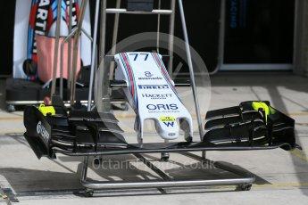 World © Octane Photographic Ltd. Williams Martini Racing FW37. Wednesday 21st October 2015, F1 USA Grand Prix Set Up, Austin, Texas - Circuit of the Americas (COTA). Digital Ref: 1456LB1D7561