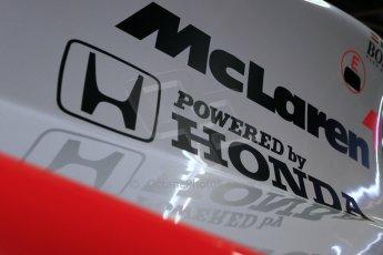 World © Octane Photographic Ltd. Donington Grand Prix Collection 25th January 2015. McLaren Honda. Digital Ref: 1179CB1D0897