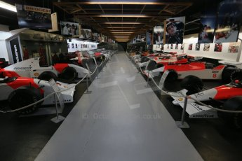World © Octane Photographic Ltd. Donington Grand Prix Collection 25th January 2015. The McLaren Hall. Digital Ref:  1179CB1D0924