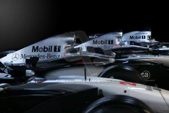 World © Octane Photographic Ltd. Donington Grand Prix Collection 25th January 2015. McLaren Mercedes airboxes. Digital Ref: 1179CB1D0928