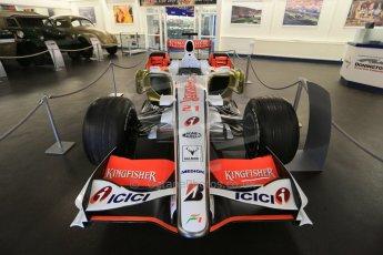 World © Octane Photographic Ltd. Donington Grand Prix Collection 25th January 2015. Force India F1 Team - VJM-01 - Giancarlo Fisichella (2008). Digital Ref: 1179CB1D0947